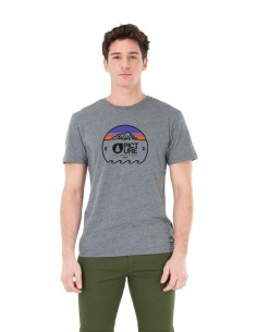 tee-shirt homme picture gris Yoho