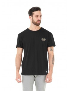 tee-shirt homme picture noir Fast food