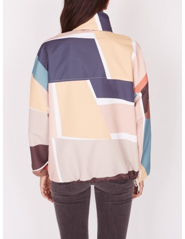 coupe vent femme obey Slice anorak