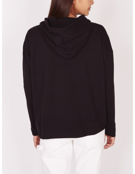 sweat femme obey Lockport pullover noir