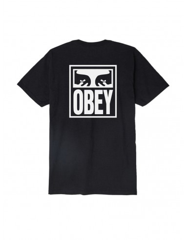 t-shirt homme obey noir Obey eyes icon