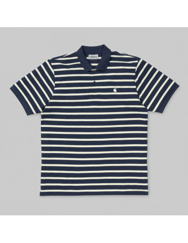 polo homme carhartt bleu S/s houston polo