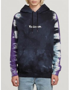 sweat capuche homme volcom violet Reload pullover