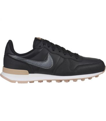 sneaker femme nike noir Women's nike internationalist premium shoe 828404-019