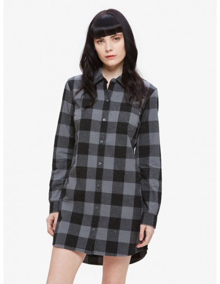 Bex shirt dress noir