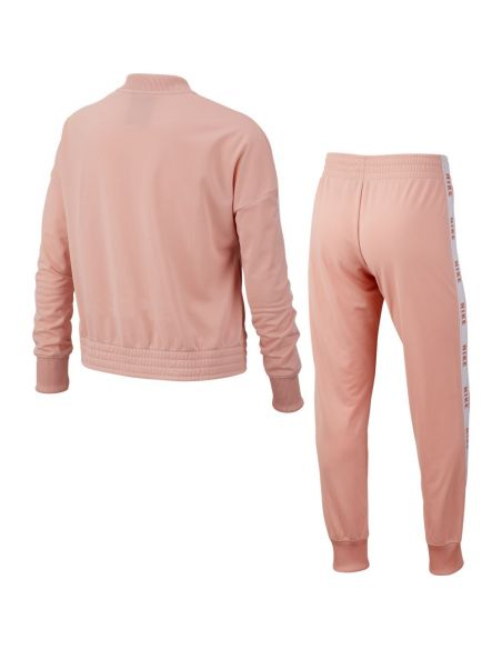 ensemble  nike rose Girl's nike sportswear suit tricot BV2769-697