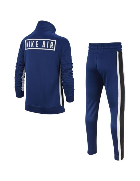 ensemble nike bleu Boy's nike air tracksuit BV3603-492