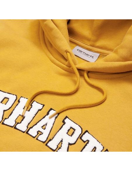 sweat homme carhartt jaune Hooded princeton sweat