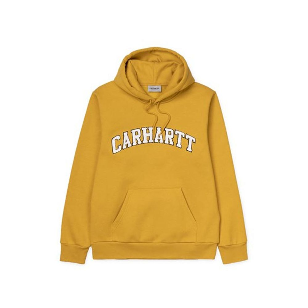 sweat capuche homme carhartt jaune Hooded princeton sweat