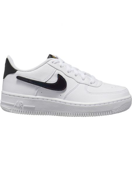sneaker enfant nike blanc Nike air force 1 lv8 3 AR7446-100