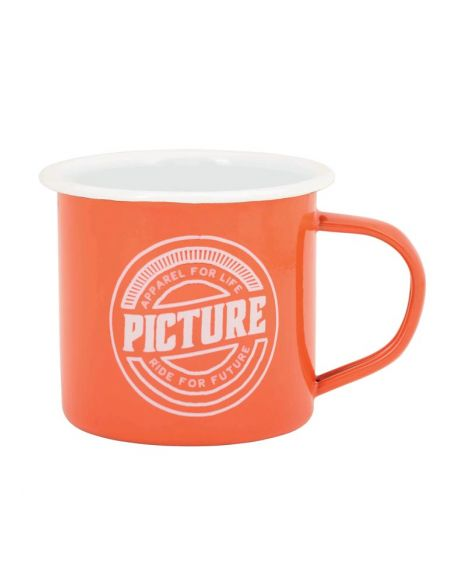 tasse metal picture orange Sherman 19 pk