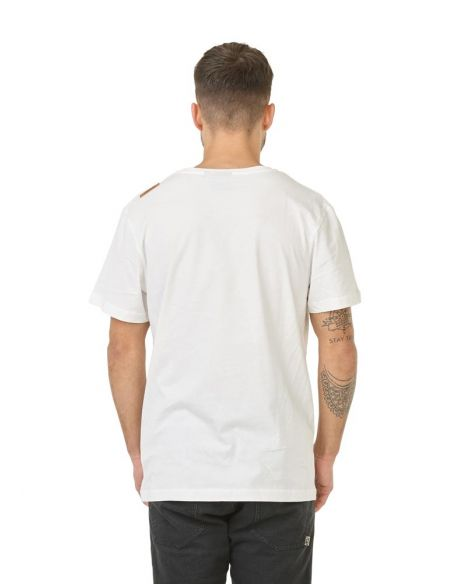 t shirt homme picture blanc Fisher d&s