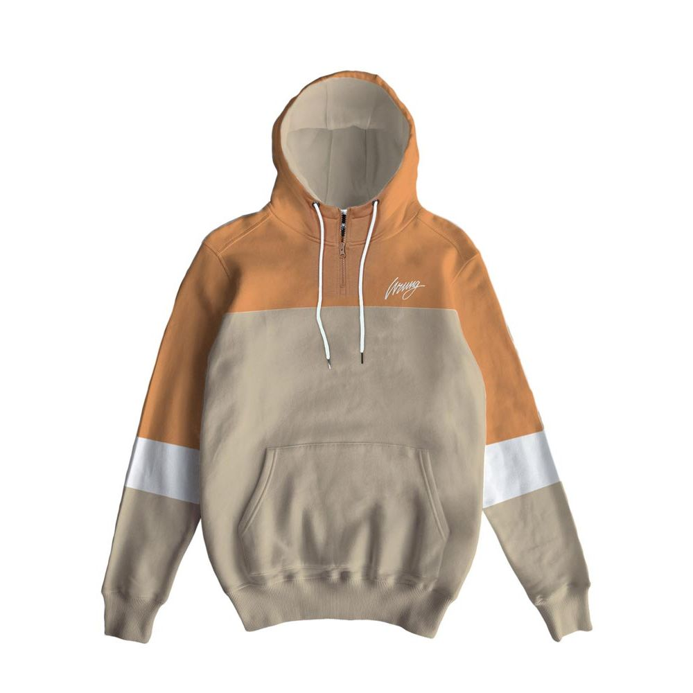 sweat capuche homme wrung beige Life 19