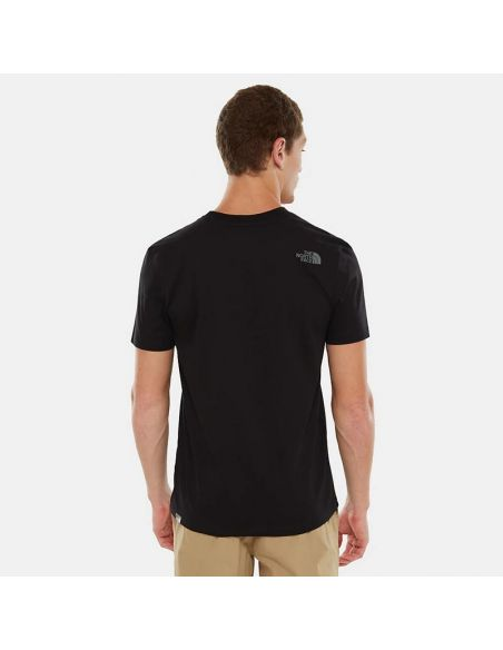 t shirt the north face noir M s/s easy tee tnf black