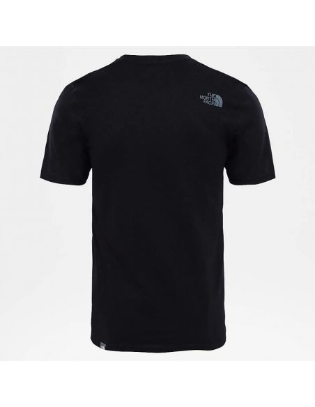 t shirt homme the north face noir M s/s easy tee tnf black