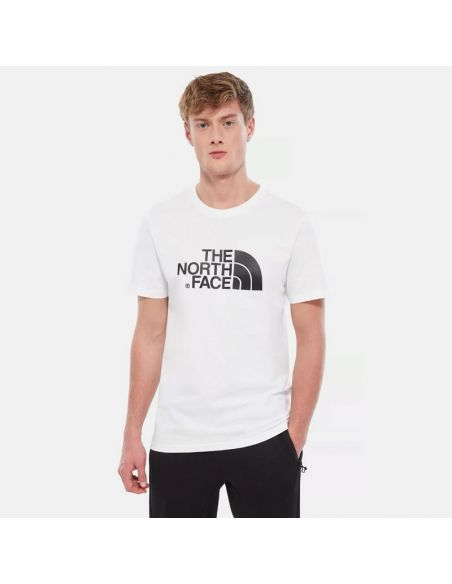 tee shirt the north face blanc M s/s easy tee tnf white