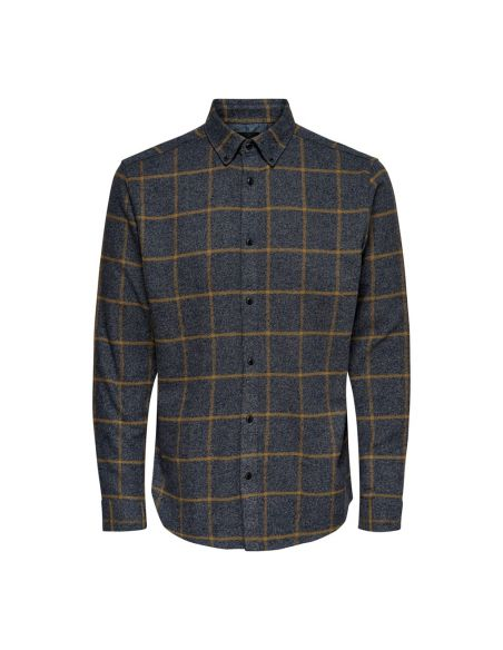 Onsgoran ls reg brushed flannel shirt