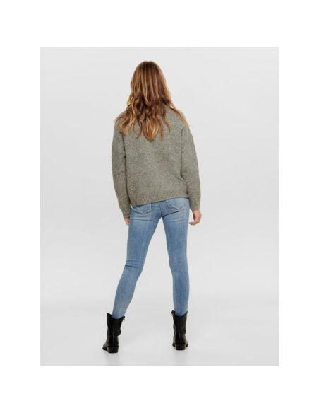 pull only kaki Onlzoey l/s pullover bf knt 15189234