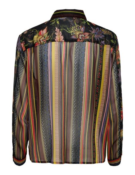 top only multi Onlpearl l/s shirt wvn 15190069