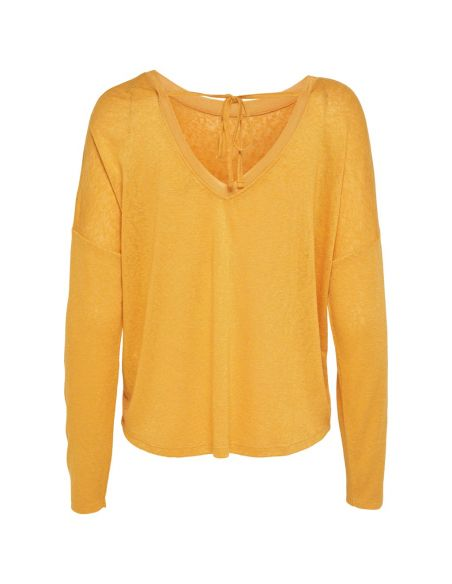 top only jaune Onlriley l/s top jrs 15161728