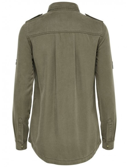 Onlnevada lyocell patch shirt pnt only