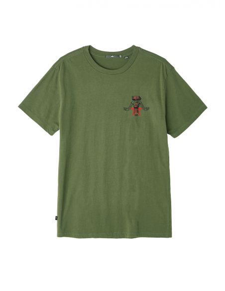 T-shirt homme OBEY M obey hammer tee