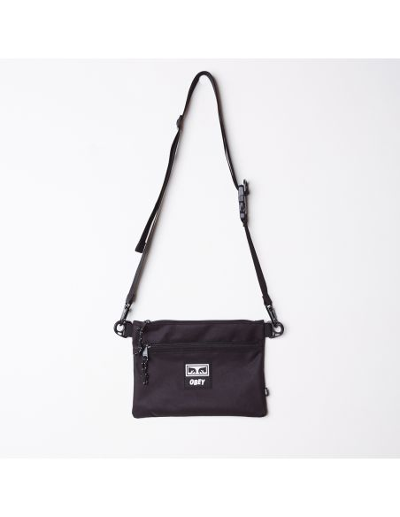 Saccoche OBEY noir Conditions side bag iii