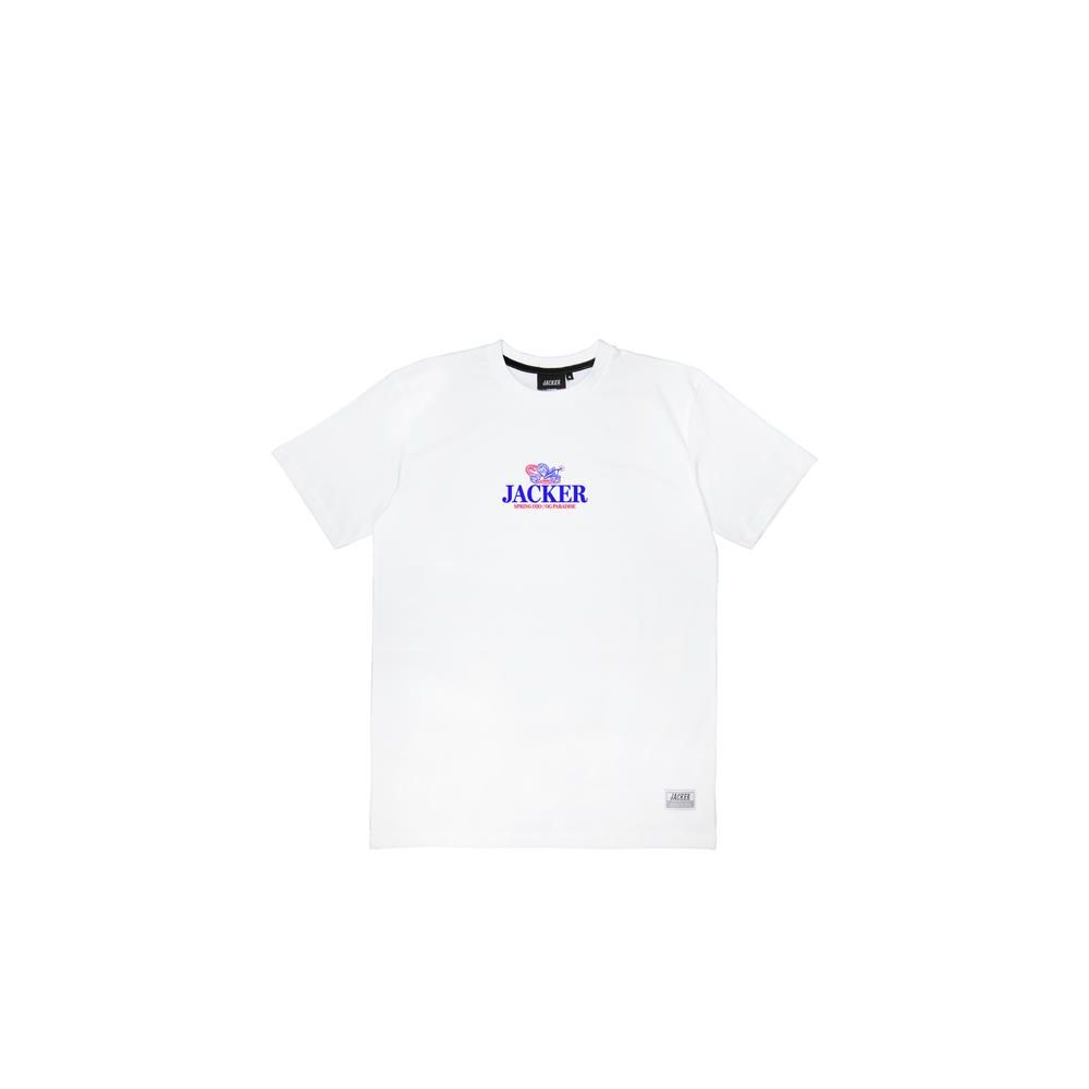 T-shirt homme JACKER blanc Heaven's soldiers tee