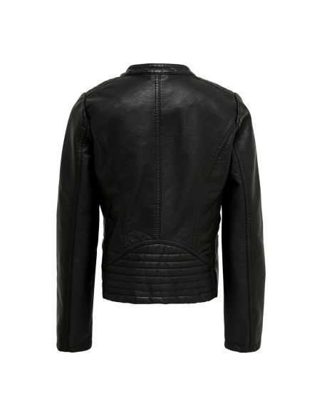 Konfreya faux leather biker otw noos