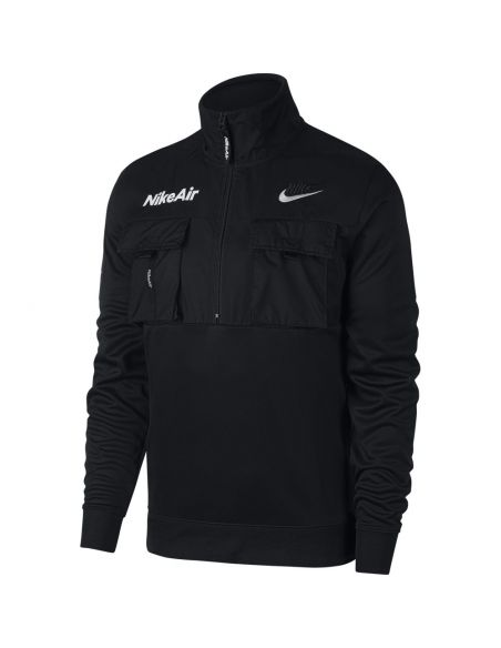 Men's 1/2-zip polyknit jacket