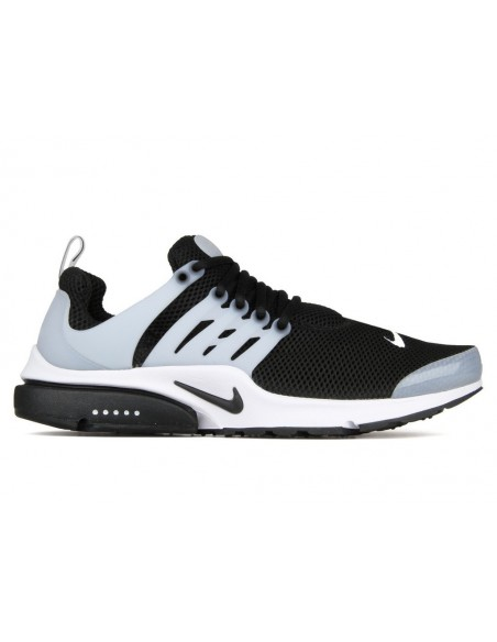 Men's nike air presto shoe black-white-grey