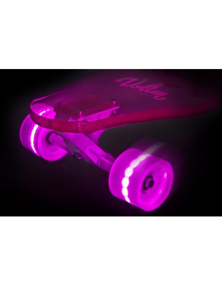 Volten wheels 70/51 pink led for icelb roue lumineuse rose