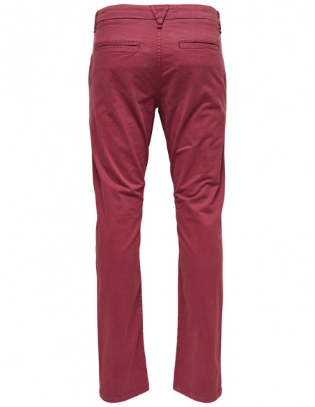 Onssharp chino rosewood 4056 pa noos bordeaux
