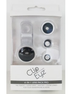objectif Clipeyz™ lens pack pro – silver