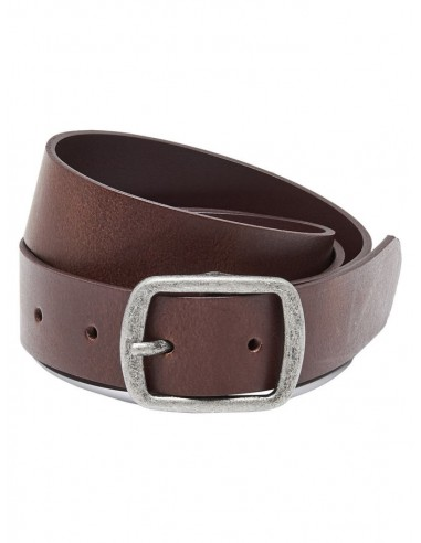 ceinture cuir Onlbeach leather belt noos marron
