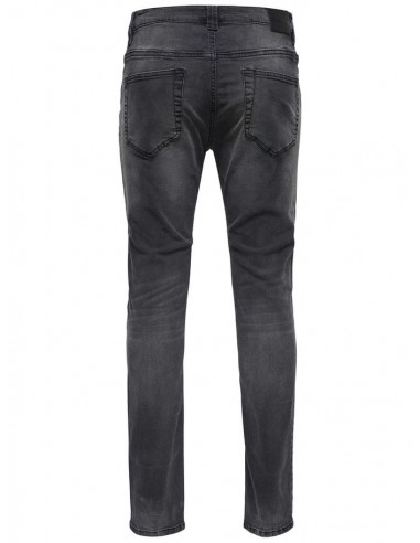 jeans Only & Sons Onsloom black 5645 bg noos slim noir
