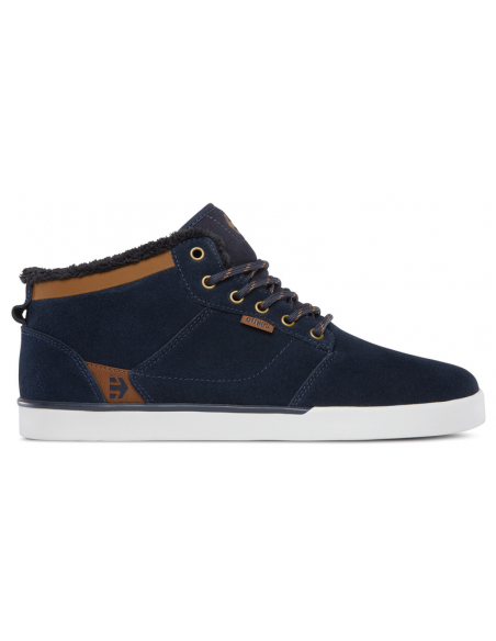 Etnies jefferson mid navy brown white