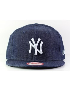 casquette NY Denim basic 9fifty neyyan navy/white bleu jean
