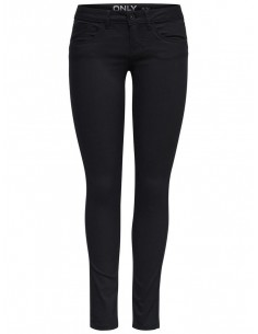 pantalon Only Onllucia sl skinny push up pant pnt noos noir