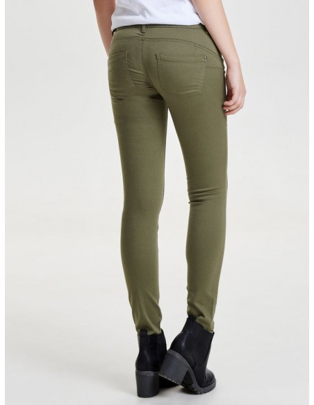 jean's Only Onllucia sl skinny push up pant pnt noos vert