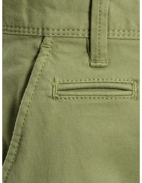 pantalon enfant Name It Nitallan reg/slim twill chino m nmt vert
