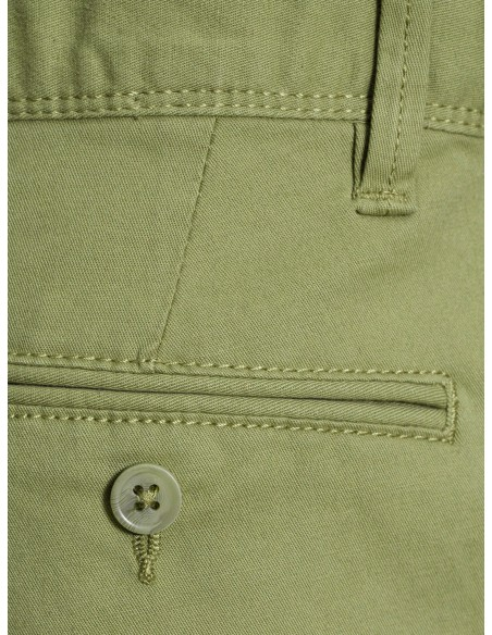 pantalon Name It Nitallan reg/slim twill chino m nmt vert