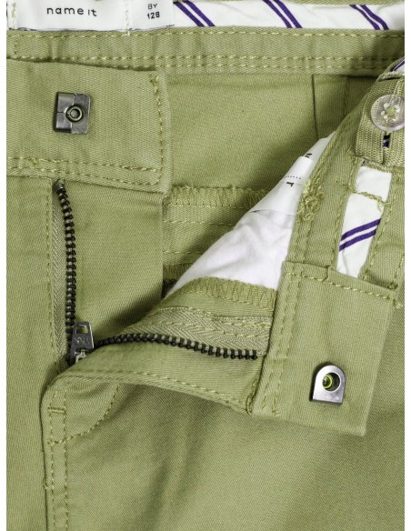 chino enfant slim Name It Nitallan reg/slim twill chino m nmt vert