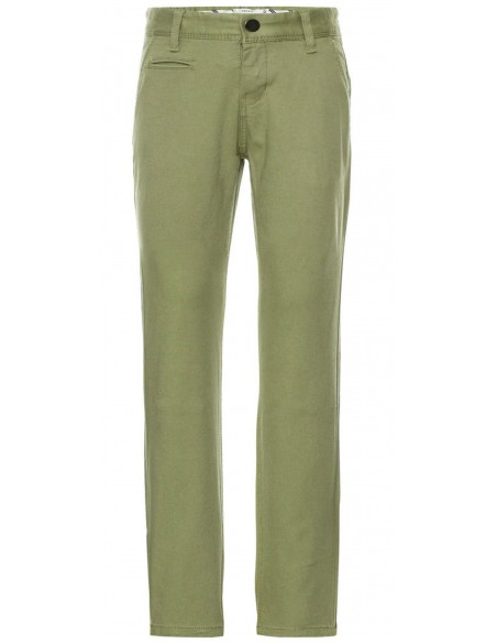 chino enfant Name It Nitallan reg/slim twill chino m nmt vert