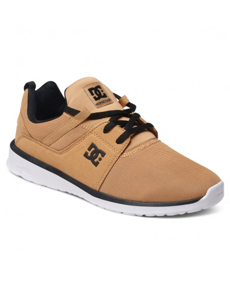 basket homme DC shoes Heathrow camel