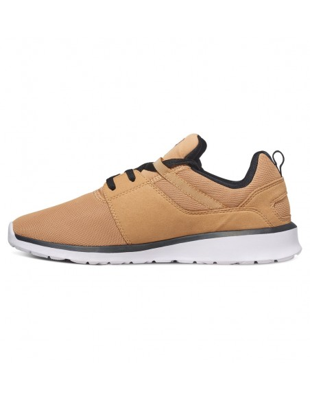 chaussure homme DC SHOES Heathrow camel