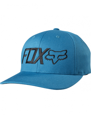 casquette enfant Fox Youth draper flexfit [m blu] one size
