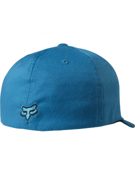 casquette Fox Youth draper flexfit [m blu] one size