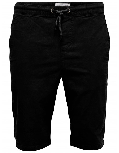 short homme Only&Sons Onshenry shorts black 5304 pk