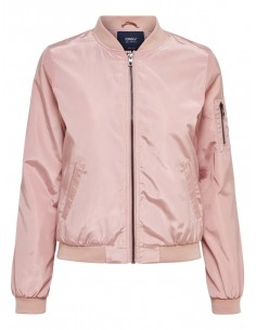 bomber femme Only rose Onllinea nylon short jacket otw noos